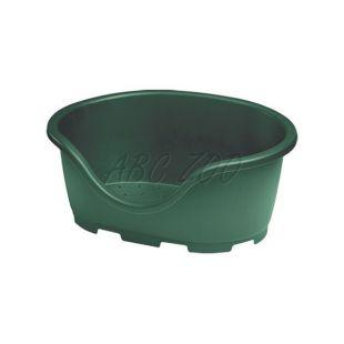 Ležadlo pre psa PERLA 1, zelené - 49 x 34 x 21 cm
