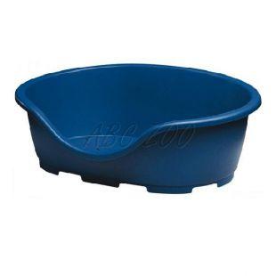 Ležadlo pre psa PERLA 4, modré - 74 x 52 x 27 cm