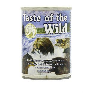 TASTE OF THE WILD Pacific Stream Canine - konzerva, 374g