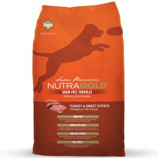 NUTRA GOLD Turkey&Sweet Potato GRAIN FREE - 13,6 kg