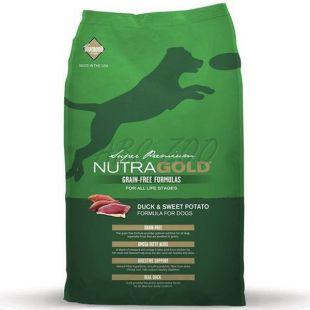 NUTRA GOLD Duck&Sweet Potato GRAIN FREE - 13,6 kg