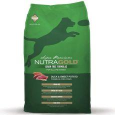 NUTRA GOLD Duck&Sweet Potato GRAIN FREE - 2,25 kg
