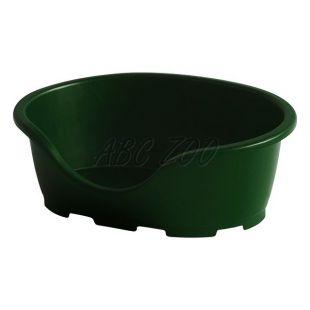 Ležadlo pre psa PERLA 3, zelené - 66 x 46 x 25 cm