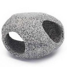 Dekorácia - Kamenný úkryt, žula, 10,2 cm