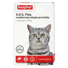 Obojok pre mačky proti blchám Beaphar 35 cm