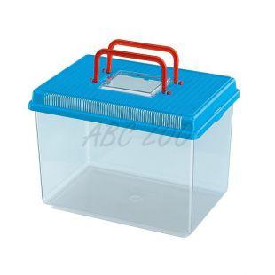 Plastová prepravka Ferplast GEO LARGE - modrá, 6L
