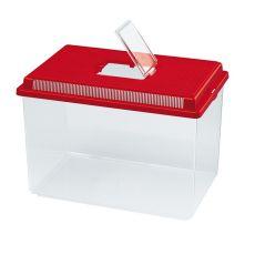 Plastová prepravka Ferplast GEO EXTRA LARGE - červená, 11L