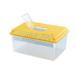 Prepravka pre plazy a hmyz GEO FLAT SMALL - žltá, 4L