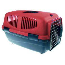 Prepravka pre psov - 46 x 30,5 x 28,3cm - bordová