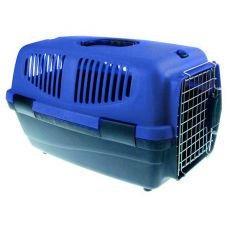 Prepravka pre psov - 46 x 30,5 x 28,3cm - modrá