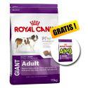 ROYAL CANIN GIANT ADULT 15 kg + 4 kg GRATIS