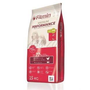 Fitmin MEDIUM Performance - 15 kg + DOPRAVA ZDARMA