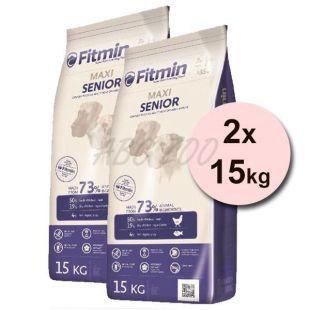 Fitmin MAXI Senior 2x15kg + DOPRAVA ZDARMA