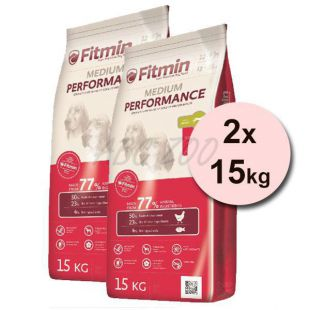 Fitmin MEDIUM Performance 2x15kg + DOPRAVA ZDARMA