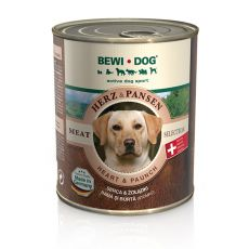Konzerva BEWI DOG, srdcia + žalúdok, 800 g