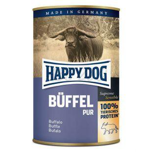 Happy Dog Pur - Büffel 400g / byvolie mäso
