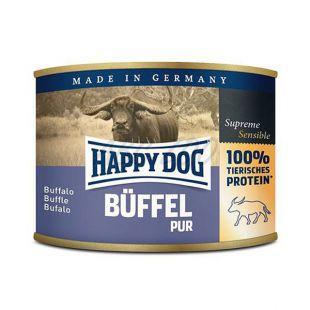 Happy Dog Pur - Büffel 200g / byvolie mäso
