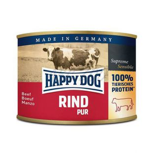 Happy Dog Pur - Rind 200g / hovädzie