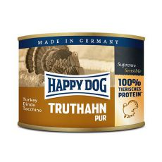 Happy Dog Pur - Truthahn 200g / morka