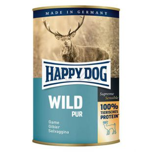 Happy Dog Pur - Wild 400g / divina
