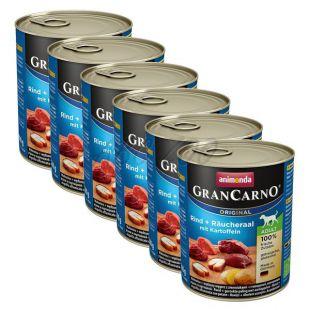Konzerva GranCarno Fleisch Adult údený úhor+zemiaky - 6x800g
