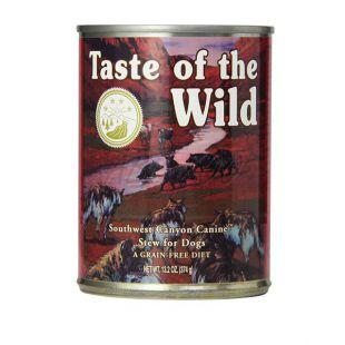 TASTE OF THE WILD Southwest Canyon Canine - konzerva, 374g
