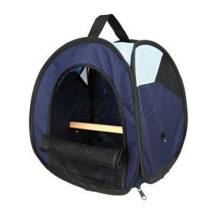 Prenosná taška pre vtáky s bidlom - 27 x 32 x 27cm
