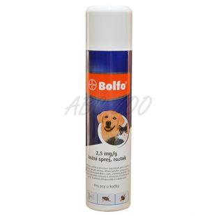Antiparazitný sprej BOLFO pre psy a mačky - 250 ml