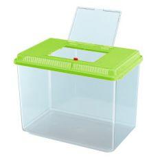 Plastová prepravka Ferplast GEO MAXI - zelená, 21L