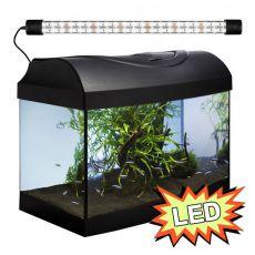 Akvárium STARTUP 40 LED Expert 6W - OBLÚK - ČIERNE