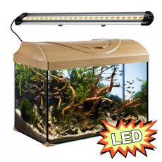 Akvárium STARTUP 50 LED Extra 2x5,7W - ROVNÉ - BUK