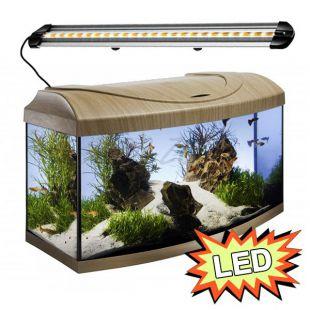 Akvárium STARTUP 60 LED Extra 2x7,2W - OBLÚK - BUK
