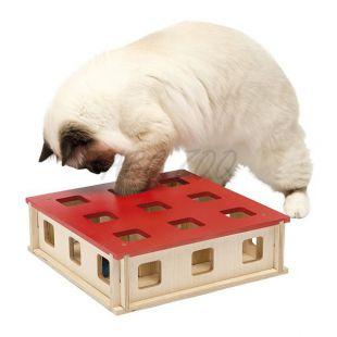 Hračka pre mačku MAGIC BOX, 27 x 27 x 8,5 cm