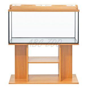 LED Akvárium komplet DIVERSA 54l - oválne + stolík BUDGET buk