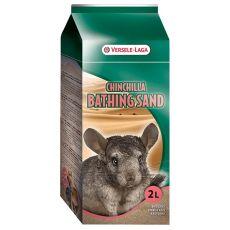Chinchilla Bathsand - kúpací piesok pre činčily 1,3kg/2l
