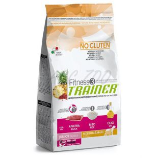 Trainer Fitness3 Junior MEDIUM MAXI - kačka s ryžou 12,5 kg