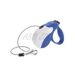 Vodítko Amigo Mini do 12kg - 3m lanko, modro biele