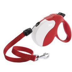 Vodítko Amigo Long do 20kg - 7m lanko, červeno biele