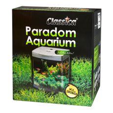 Akvárium CLASSICA PARADOM XL390 40L - strieborné, oválne