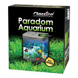 Akvárium CLASSICA PARADOM XL390 40L - čierne, oválne