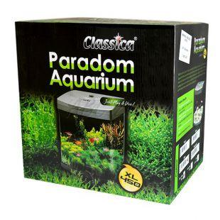 Akvárium CLASSICA PARADOM XL450 58L - strieborné, oválne