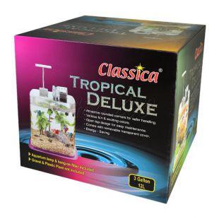 Akvárium Classica Tropical Deluxe - plastové 12l
