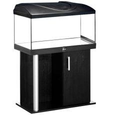 Akvárium komplet DIVERSA 112l - rovné + stolík COMFORT čierny