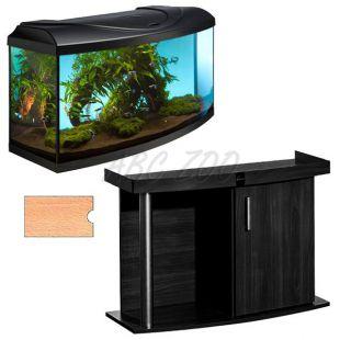 Akvárium komplet DIVERSA 112l - oblúk + stolík COMFORT buk