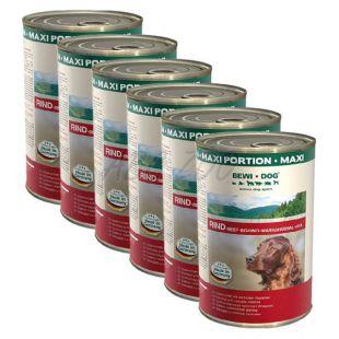 BEWI DOG, Hovädzina - 6 x 1200 g konzerva
