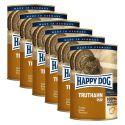 Happy Dog Pur - Truthahn/morka, 6 x 400g, 5+1 GRATIS