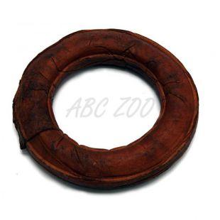 Žuvací krúžok pre psy, údený - 12,5cm