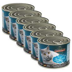 Konzerva pre mačky Leonardo - Ryba  6 x 200g