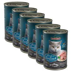 Konzerva pre mačky Leonardo - Ryba 6 x 400g