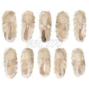 Odmena pre psa - topánka z lisovanej kože s vápnikom 12,5cm - 10ks